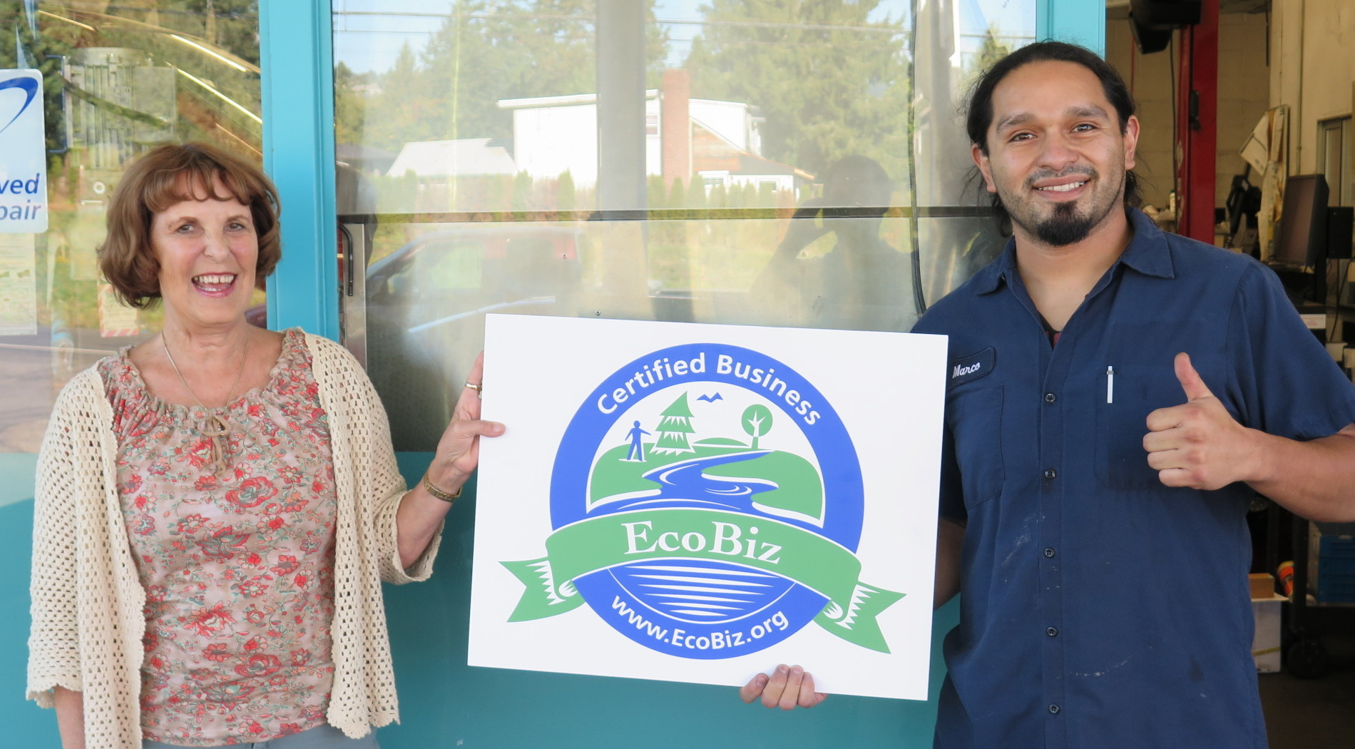 DuFresne's Auto Service becomes Eco Biz Certified