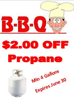 $2.00 Off you next Propane Fill